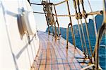 leisure series: yacht journey in the summer sealine