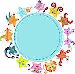 vector illustration of a horoscope