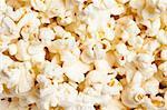pop corn closeup