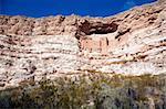 Montezuma Castle National Monument in Arizona. American Indian cliff dwellings