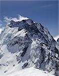 Caucasus Mountains. Dombay, mount Dombay-Ulgen.