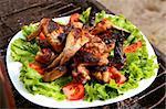fresh grill bbq chicken lap