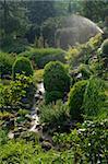 The residence of Roumanian queen. Botanic garden