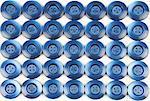 blue buttons - wallpaper