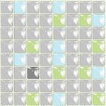 ceramic tiles background, abstract vector art illustration