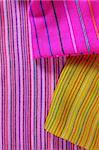 Mexican serape vibrant colorful macro fabric texture background
