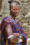 Portrait of Masai Man