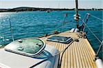 yacht deck, Croatia