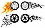 Sports Race Emblems - third set