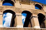 Colosseum, greatest amphitheatre in Rome, Italy