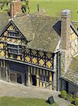 manor house stokesay castle shropshire england uk