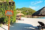 Beach Massage Sign, Pacific ocean