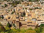 Rooftops of Granada, Andalousia, Spain
