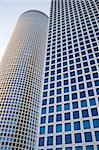 Modern office building, Azrieli tower, Tel Aviv, Israel