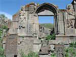 ruins of Aghjots Vank Monastery,Armenia