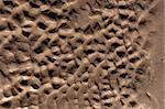 pattern on the sandy beach in ballybunion ireland
