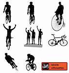 bikesilhouettes high detailed