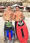 Portrait young mens - the surfers