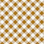 seamless texture ofsepia brown and white blocked tartan cloth