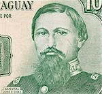 General Jose Edubigis Diaz on 100 Guarani 1982 Banknote from Paraguay