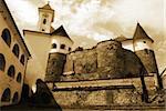 Hungarian PAlanok Castle in Mukacheve, Ukraine