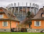 The European Parliament, Strasbourg building, France