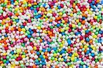 photo shot of colorful sugar sprinkles