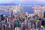 Hong Kong at evening