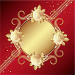 Old-styled roses, vector illustration - Illustration for your design
