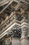 The pillar of Pantheon, Paris, France