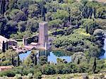 Romantic oasis of Gardino di Ninfa