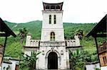 Landmark of a historical cathedral Church in Yunnan China