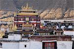 Landmarks of a famous historical Tibetan lamasery