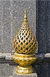 Thai-style lamp in Thai temple