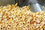 Image of pop corn closeup