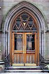 Entrance of an old church
