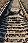 Closeup of the rails