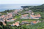 Small village of Ribeiras in Pico island, Azores