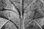 Detail of 13 Century Cloisters, Battle Abbey
