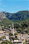 Valldemossa , village and municipality on the island of Majorca, part of the Spanish autonomous community of the Balearic Islands