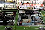 Japan, Tokyo, Shibuya, taxi