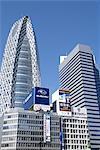 Japan, Tokyo, Shinjuku, cocoon tower