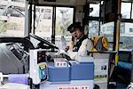 Japon, Hakone, gare de Gora, pilote
