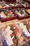 Japan, Tokyo, sushis