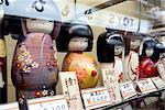 Japan, Tokyo, Asakusa, dolls