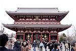 Japon, Tokyo, bouddhiste temple d'Asakusa
