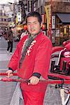 Japan, Tokyo, Asakusa, rickshaw