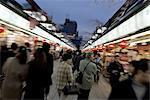 Japan, Tokyo, Asakusa, shopping arcade