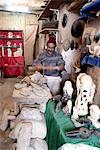 Marokko, Taroudant, Bildhauer