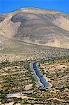 Péninsule de Jandia Espagne, Canaries, chemin mountain